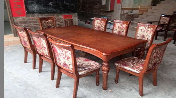 Lai 8 Seater Dining Table And Chairs