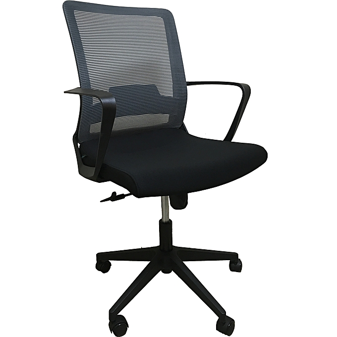 Grey Midback Office Chair