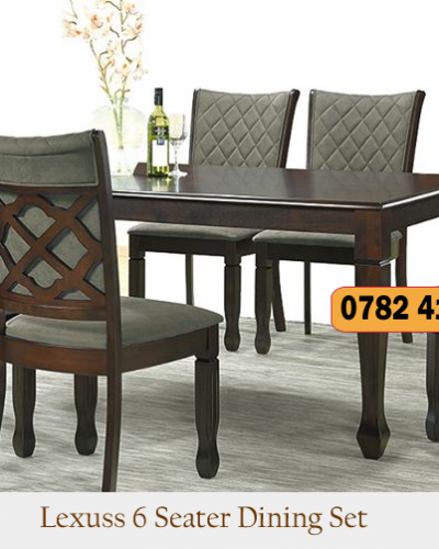 Lexuss 6 Seater Dining Set