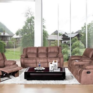Louis 6 Seater Recliner Sofa Set