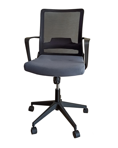 Midback Office Chair Grey Seat