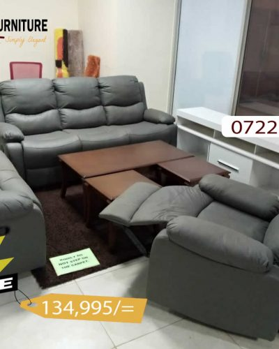 Chelsea Grey Recliner Sofa Set in Kisii on Sale