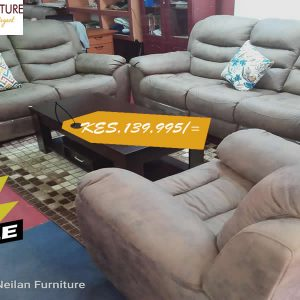 Rusty Brown Recliner Sofa Set In Kisii On Sale