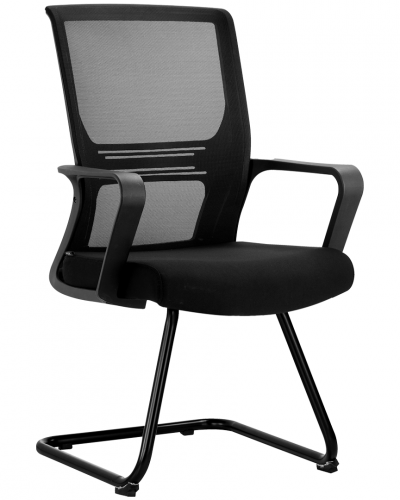 black.png Visitor Chair