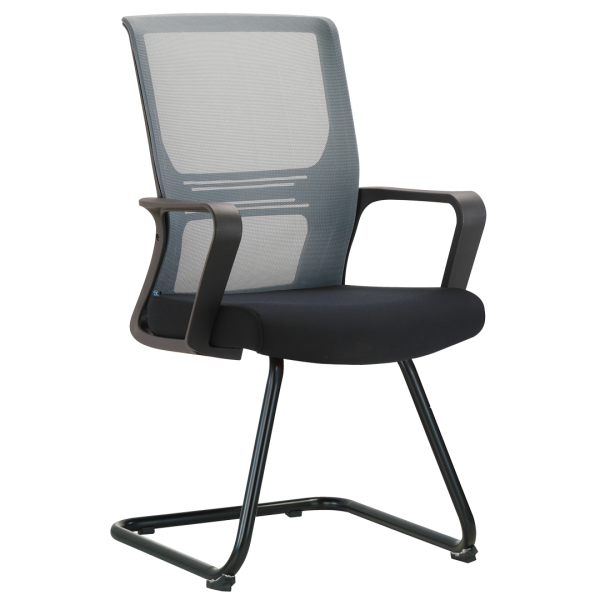 Visitor Waiting Chair In Grey