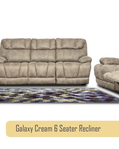 Galaxy 6 Seater Recliner Sofa Set