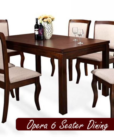 Quality Opera 6 Seater Dining Set @74995 Only