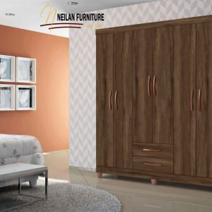 Quality Kinetic 3 Column Wardrobe