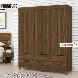 Zipang Wardrobe with Sliding Doors