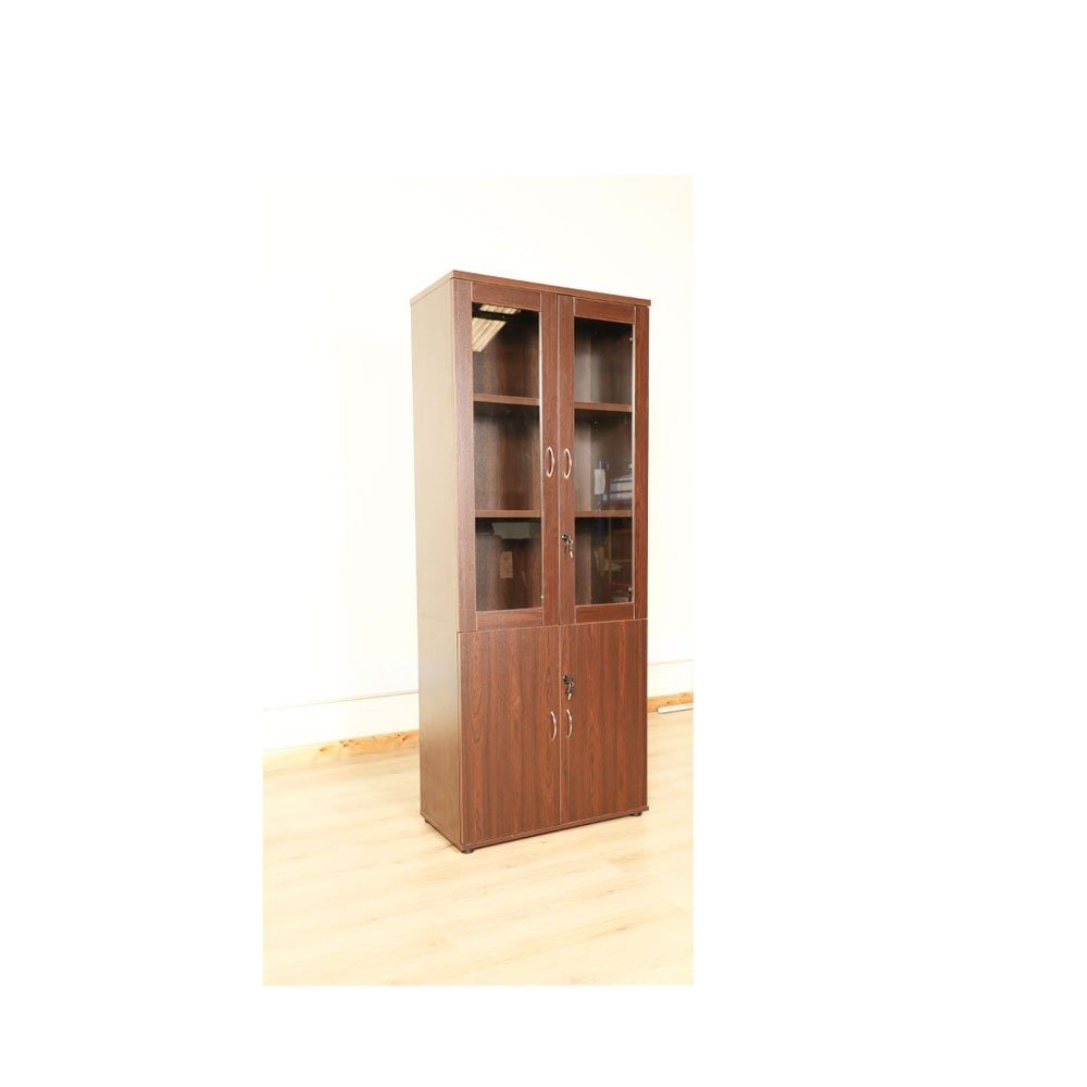 Wooden Filing Cabinet With 2 Doors